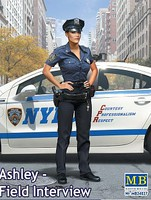 Master-Box 1/24 Ashley Modern Police Woman (New Tool)