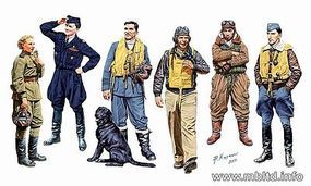 Master-Box WWII Famous Pilots (6) Plastic Model Military Figure 1/32 Scale #3201