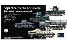 Master-Box Model Tank Tracks Plastic Model Military Vehicle Accessory 1/35 Scale #3505