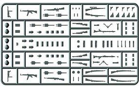 Master-Box WWII German Infantry Weapons Plastic Model Weapon 1/35 Scale #35115