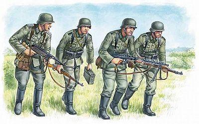 ZVEDA #3513 1:35 Scale German Assualt Troops Model Kit