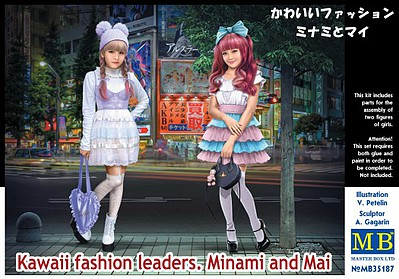 Master-Box 1/35 Minami & Mai Kawaii Fashion Style Girls