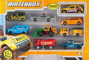Matchbox Matchbox 9-Vehicle Gift Pack Diecast Model Car Truck 1/64 Scale #x7111