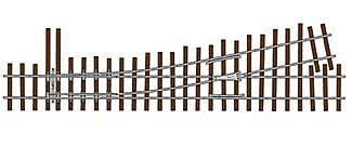 Micro Engineering Flex Track Turnouts Code 83 #5 Left Hand N/S -- Model Train Track -- On30 Scale -- #14403