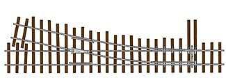 Micro Engineering Flex Track Turnouts Code 83 #5 Right Hand N/S -- Model Train Track -- On30 Scale -- #14404