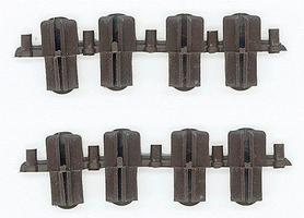 Micro-Engr Transition Rail Joiners Plastic Insulated Code 250 to 205 Model Train Track G Scale #26007