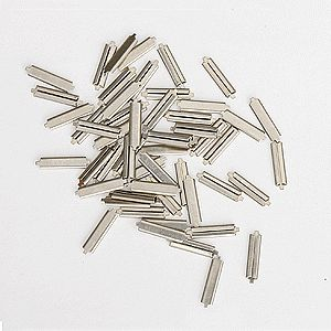 Micro-Engr Code 70 Nickel Silver Rail Joiners (50) Nickel Silver Model Train Track HO Scale #26070