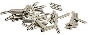 Micro-Engr Code 83 Nickel Silver Rail Joiners (50) Model Train Track Accessory #26083