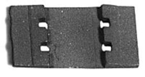 Micro-Engr Code 332 Tie Plates (100) Model Train Track G Scale #27101