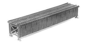Micro-Engr Deck Girder Bridge w/Open Deck Kit 50' Model Train Bridge HO-Scale #75501