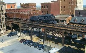 Micro-Engr Double Track City Viaduct Kit 150 Model Train Bridge HO Scale #75512