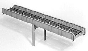 Micro-Engr 100 Through Girder Bridge Single Track Model Train Bridge Kit HO Scale #75522