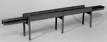 Micro Engineering Four Span Combination Bridge 160' -- Model Train Bridge -- HO Scale -- #75532