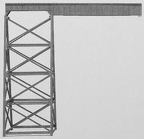 Micro-Engr Tall Steel Viaduct Length Extension - 120 Model Train Bridge N Scale #75542