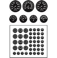 Model-Car-Garage Gauges Modern Plastic Model Vehicle Accessory Kit 1/24-1/25 Scale #2056
