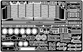 Model-Car-Garage 1965 Impala Detail Set for RMX Plastic Model Vehicle Accessory Kit 1/25 Scale #2090