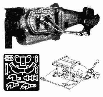 Muncie 4Speed Transmission Kit PE Plastic Model Vehicle