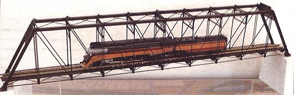 Micron Art Pratt Truss brdge kt 224' - Z-Scale