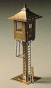 Micron Art Railroad Watchman's Tower - N-Scale