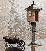 Micro-ArtMicron Railroad Watchmans Tower - HO-Scale