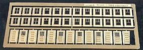 Micro-ArtMicron Bungalow windows & doors - N-Scale
