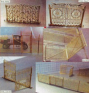 Micron Art Set of Various Gates  11/ - HO-Scale (11)