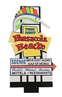 Micro-Structures Pensacola Beach Animated Neon Billboard Model Railroad Billboard Sign #2750