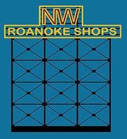Micro-Structures Norfolk and Western Roanoke Shops Animated Neon Billboard HO Scale Model Railroad Sign #3281