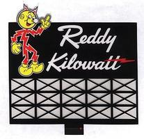 Micro-Structures Reddy Kilowatt Animated Neon Billboard HO Scale Model Railroad Sign #3681