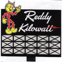 Micro-Structures Reddy Kilowatt Animated Neon Billboard N Scale Model Railroad Sign #3682