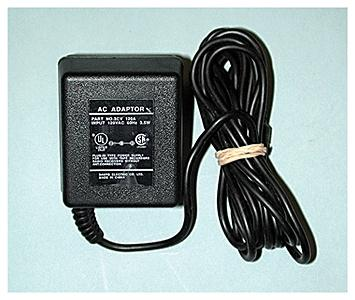 Micro Structures AC Power Adapter (4.5 Volts) -- Model Railroad Electrical Accessory -- #4800