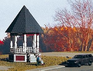 Micro Structures Gazebo - N-Scale