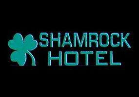 Micro-Structures Shamrock Hotel Horizontal Animated Large Sign Lighting Kit HO Scale Model Railroad Sign #6181