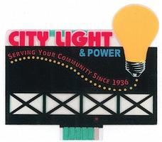 Micro-Structures City Light & Power Animated Neon Billboard Kit Model Railroad Accessory #9282