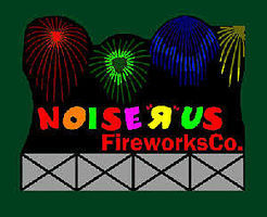 Micro-Structures Noise R Us Fireworks Co. Large Animated Neon Billboard Kit Model Railroad Accessory #9781