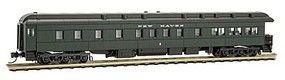 Micro-Trains Pullman Heavyweight 3-2 Observation - Ready to Run New Haven #2 (Pullman Green, black) - N-Scale