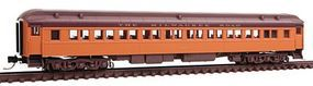 Micro-Trains Heavyweight Paired-Window Coach Milwaukee Road N Scale Model Train Passenger Car #14500120