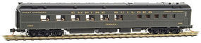 Micro-Trains Heavyweight Diner Great Northern #1048 Indiana N Scale Model Train Passenger Car #14600020