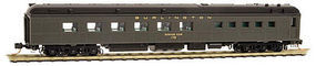 Micro-Trains Heavyweight Diner Chicago, Burlington & Quincy 178 N Scale Model Train Passenger Car #14600030