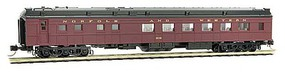 Micro-Trains 70 Heavyweight Baggage-Mail - Ready to Run Ringling Bros. 1 (black, gold, Advertising Car 5) - N-Scale