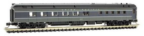 Micro-Trains Pullman 80' Heavyweight Diner Ready to Run Union Pacific 3683 (2-Tone Gray) N-Scale