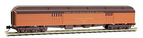 Micro-Trains 70 Hwt Bagg MILW #837 - N-Scale
