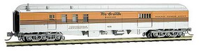 Micro-Trains 70 Heavyweight Baggage-Mail - Ready to Run Denver & Rio Grande Western 631 (4-Stripe, silver, Aspen Gold, black) - N-Scale