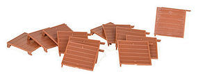 Micro-Trains 10 Superior Boxcar Doors - pkg(12) N Scale Miscellaneous Train Part #49920917
