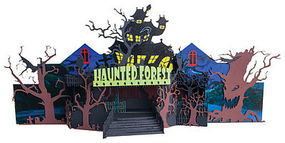 Micro-Trains Halloween Forest Circus Ride - Decorated Kit N Scale Model Train Building #49990501