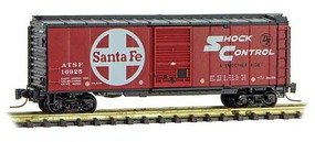 Micro-Trains 40' Std Box ATSF #16925 Z-Scale