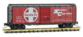 Micro-Trains 40' Std Box ATSF #16949 Z-Scale