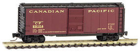 Micro-Trains 40 Standard Boxcar Canadian Pacific #29104 Z Scale Model Train Freight Car #50000881