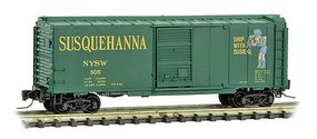 Micro-Trains 40 SD Box NYS&W #505 - Z-Scale