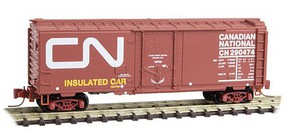 Micro-Trains 40 Boxcar CN - Z-Scale